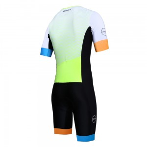 ZONE3 Lava Short Sleeve Aero Suit LTD ED strój triathlonowy męski