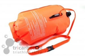 ZONE3 Neon Swimming Dry Bag - bojka asekuracyjna