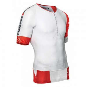 Compressport TR3 Aero Top - koszulka triathlonowa