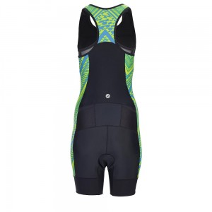 Zoot Performance Tri Racesuit tribal strój triathlonowy damski