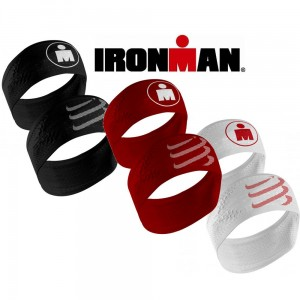 Compressport Headband On/OFF IRONMAN - opaska na głowę