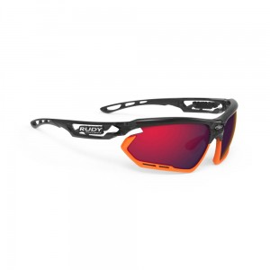Okulary rowerowe Rudy Project Fotonyk MULTI LS RED - Crystal Graphite