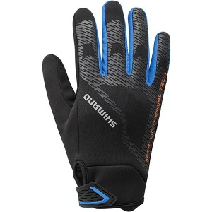 Shimano Windbreak Thermal Reflective Gloves - zimowe rękawiczki kolarskie