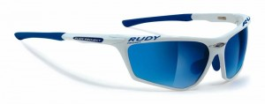 Okulary multisportowe Rudy Project Zyon White Pearl, Multilaser Blue