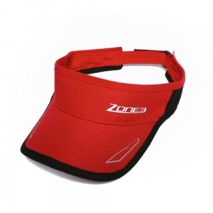 Daszek do biegania Zone3 New Edtition Coolmax Visor Czerwony