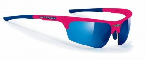 Rudy Project Noyz Pink Fluo Multilaser Blue okulary multisportowe
