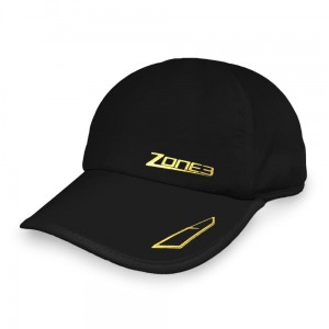 Czapka do biegania Zone3 Lightweight Cap czarna
