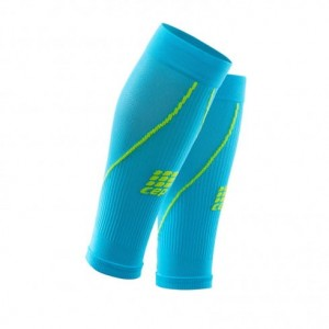 Cep Progressive+ 2.0 Calf Sleeves - opaski kompresyjne na łydki Hawaii Blue
