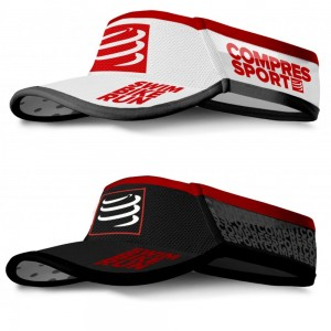Compressport Ultralight Visor IRONMAN - daszek triathlonowy