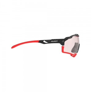 Okulary multisportowe Rudy Project Cutline Carbonium Impactx Photochromic 2 Red