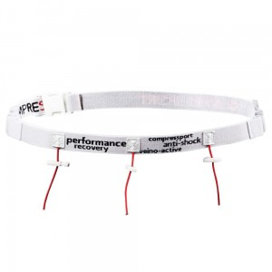 Compressport Race Number Belt - Pas na numer startowy