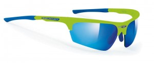 Rudy Project Noyz Green Fluo Multilaser Blue okulary multisportowe