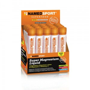 Namedsport Super magnesium liquid - magnez w ampułkach 25ml