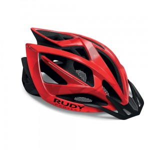 Kask Rudy Project Airstorm MTB Red Black Camo Shiny