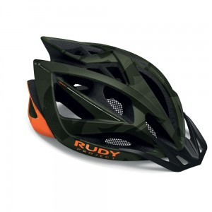 Kask Rudy Project Airstorm MTB Olive Green Orange Camo