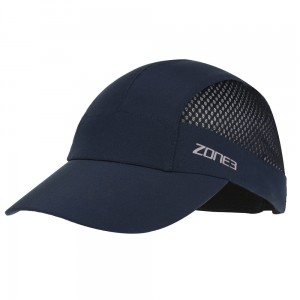 Czapka do biegania Zone3 Lightweight Mesh Triathlon and Running Baseball Cap