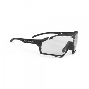 Okulary multisportowe Rudy Project Cutline Black Matte ImpactX Photochromic 2 Black