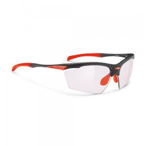 Okulary rowerowe Rudy Project Agon Carbonium ImpX2 Ls Red