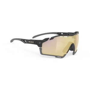 Rudy Project Cutline Black Gloss Multilaser Gold Multisport Glasses