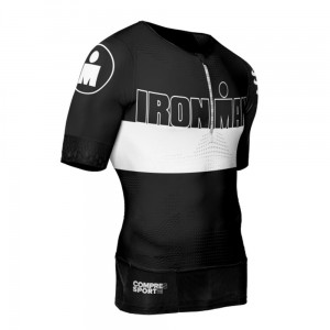 Compressport TR3 Aero Top IRONMAN Stripes- koszulka triathlonowa