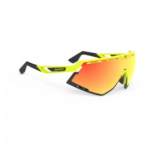 Okulary rowerowe Rudy Project Defender RP Optics Multilaser Orange