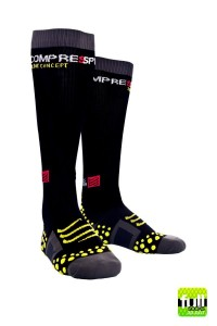 Compressport Full Socks - skarpety kompresyjne czarne