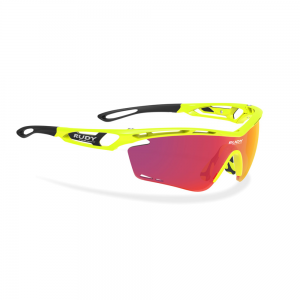 Okulary rowerowe Rudy Project Tralyx Yellow Fluo Multi