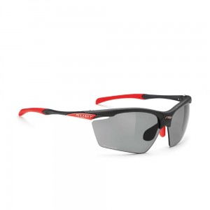 Okulary rowerowe Rudy Project Agon Graphite Laser Black