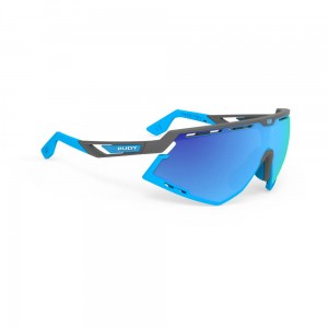 Okulary rowerowe Rudy Project Defender RP Optics Multilaser Blue