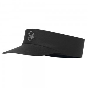 Daszek Pack Run Visor Buff R-solid black do biegania