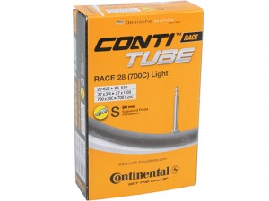 Continental Race 28 SV 80mm light - dętka szosowa