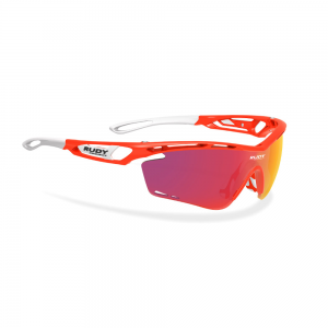Okulary rowerowe Rudy Project Tralyx Red Fluo Multi