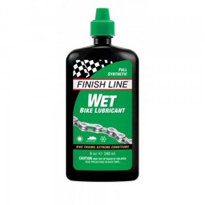 Finish Line Wet Cross Country - olej syntetyczny do łańcucha 240ml