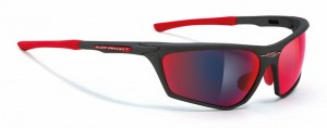 Rudy Project Zyon Graphit Multilaser Red Okulary multisportowe