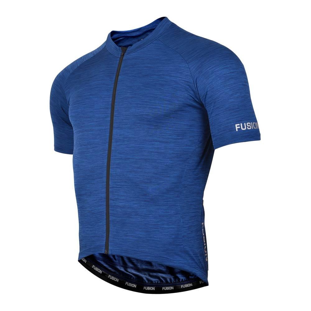 Fusion C3 Cycling Jersey Koszulka kolarska z krótkim rękawem granatowa